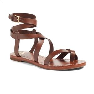 Tory Burch gladiator sandal size 7 brown